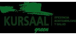Logotipo KURSAAL GREEN, Eficiencia, Sostenibilidad y Salud