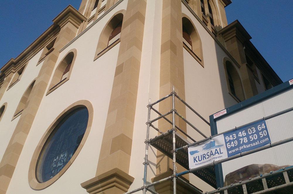 foto noticia: A punto de acabar los trabajos en el convento de los Franciscanos de Donostia
