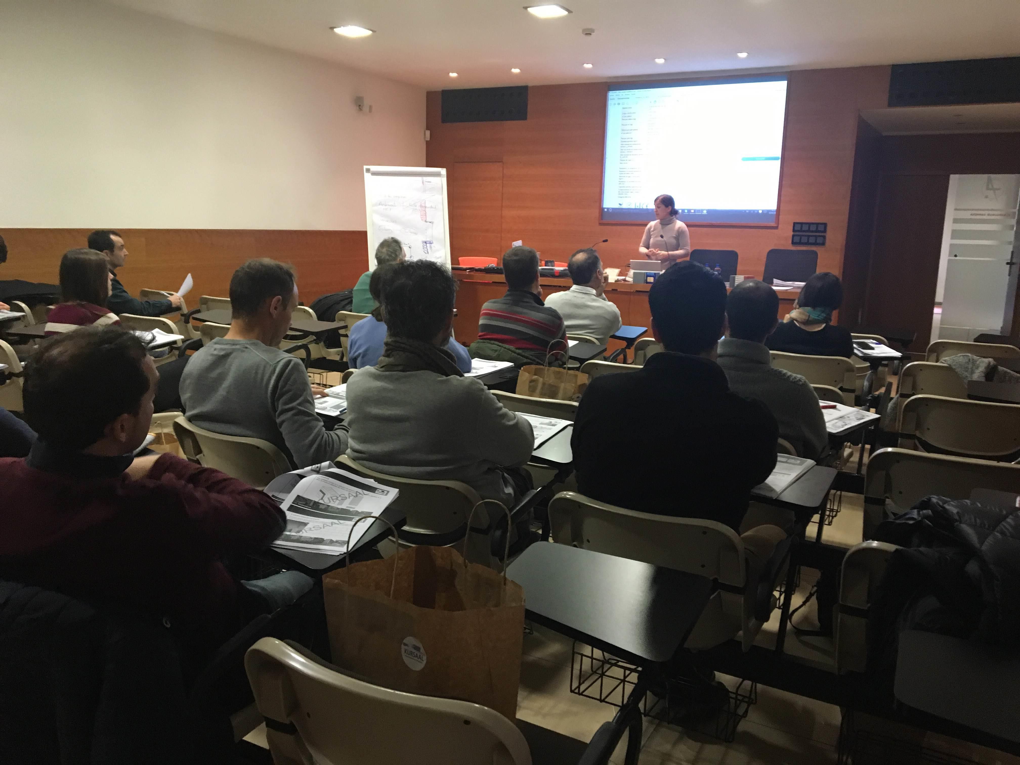 foto noticia: Hemos impartido la 4ª edición del curso SATE en el COAAT de Álava