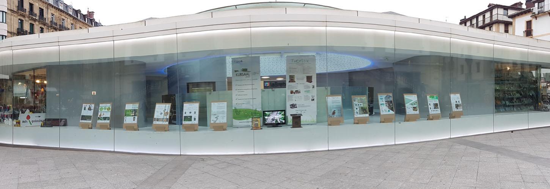 foto noticia: Kursaal Green, Cristina Enea Fundazioa y Aranzadi inauguramos la Exposición Txoriak en La Bretxa