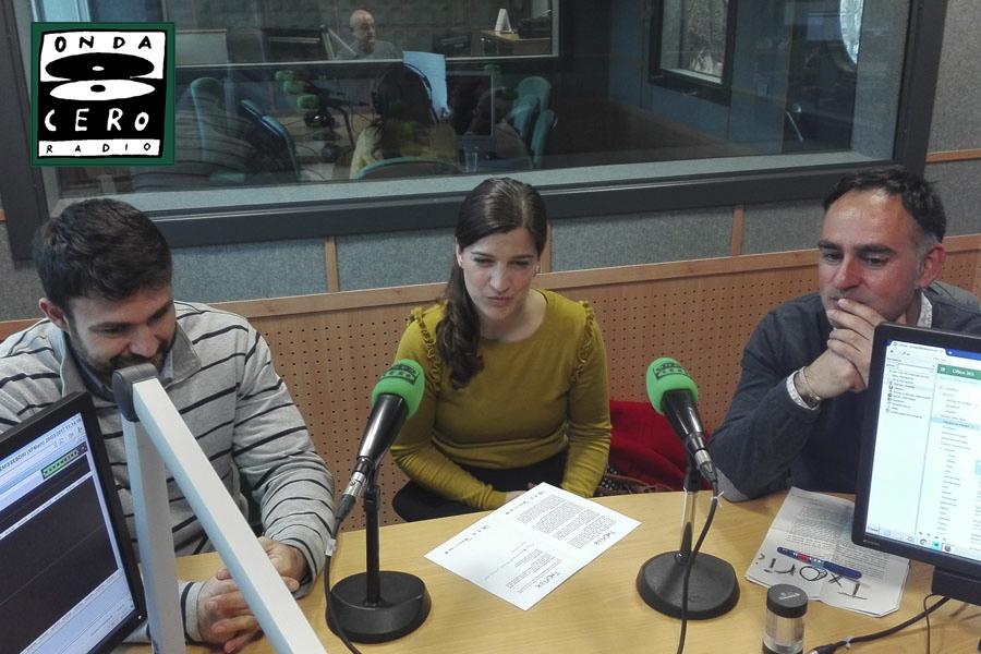 foto noticia: Kursaal Green, Cristina Enea  y Aranzadi presentamos la 2ª edición de la campaña Txoriak en Onda Cero