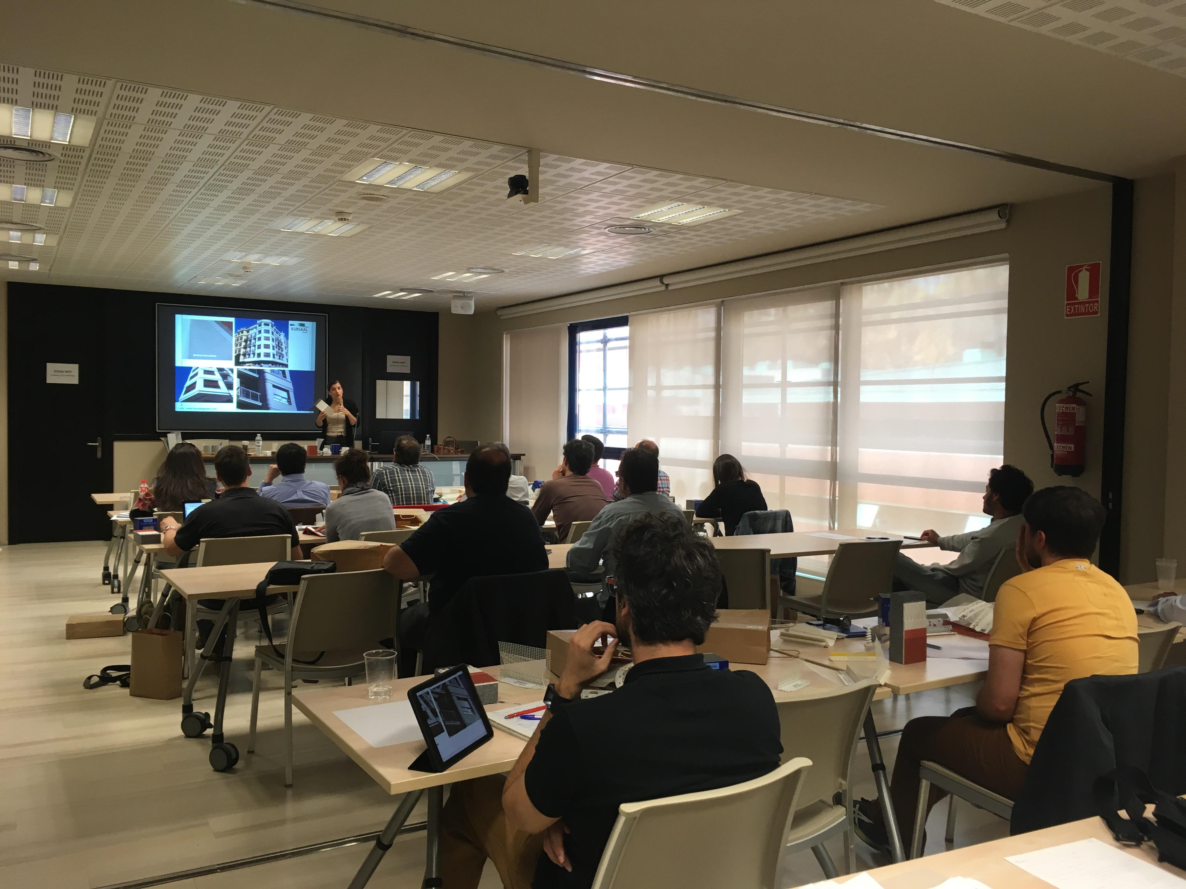 foto noticia: Kursaal Green imparte la 6ª edición del curso SATE en el COAAT de Bizkaia