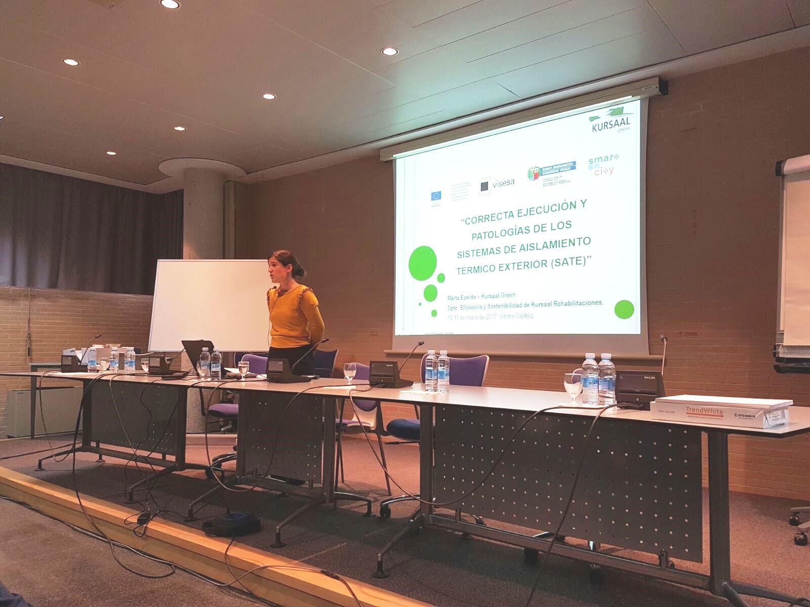 foto noticia: Kursaal Green ha impartido formación en la 1ª Reunión del proyecto Smartencity, organizado por Visesa