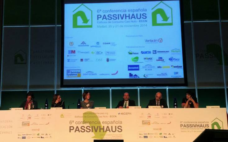foto noticia: Kursaal Rehabilitaciones presente en la 6ª Conferencia Española Passivhaus