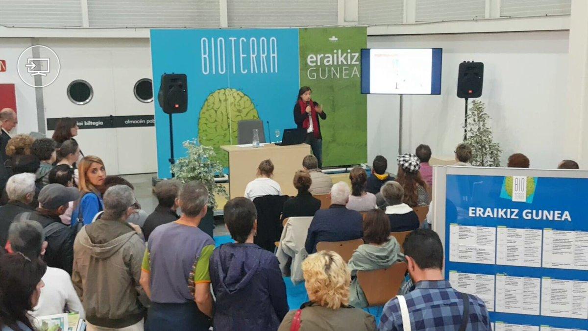 foto noticia: Kursaal Green imparte una charla en Bioterra 2017