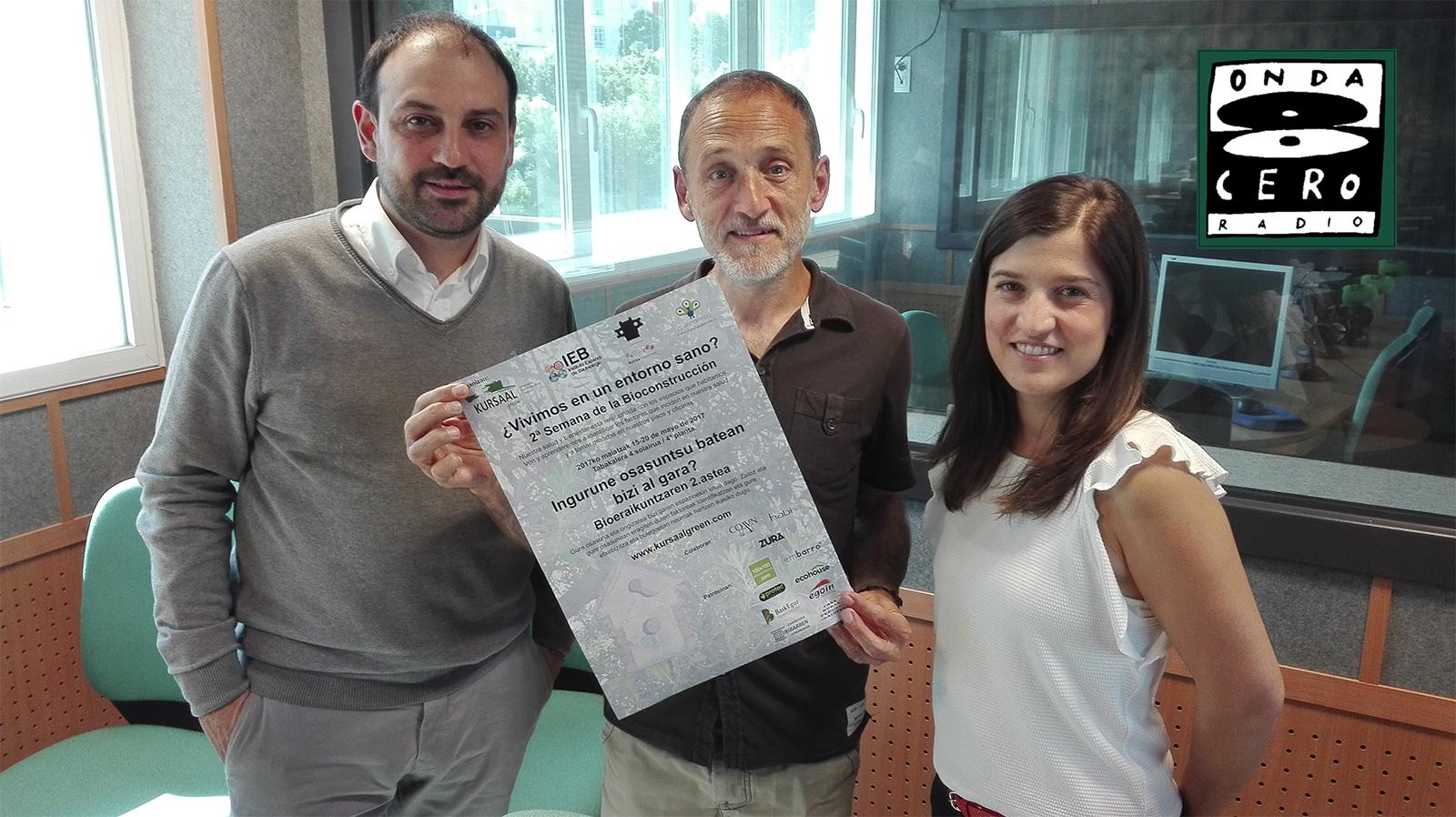 foto noticia: Kursaal Green y la 2ª Semana de la Bioconstrucción en Onda Cero
