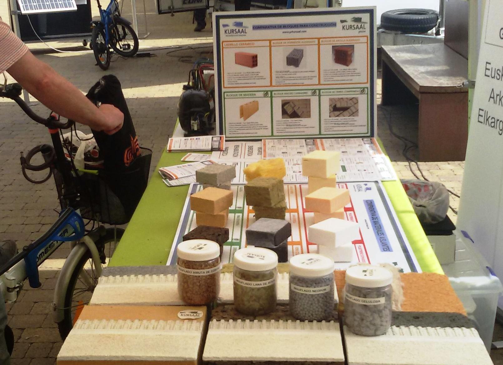 foto noticia: Kursaal Rehabilitaciones presente en la Feria de la Energía celebrada en Zarautz