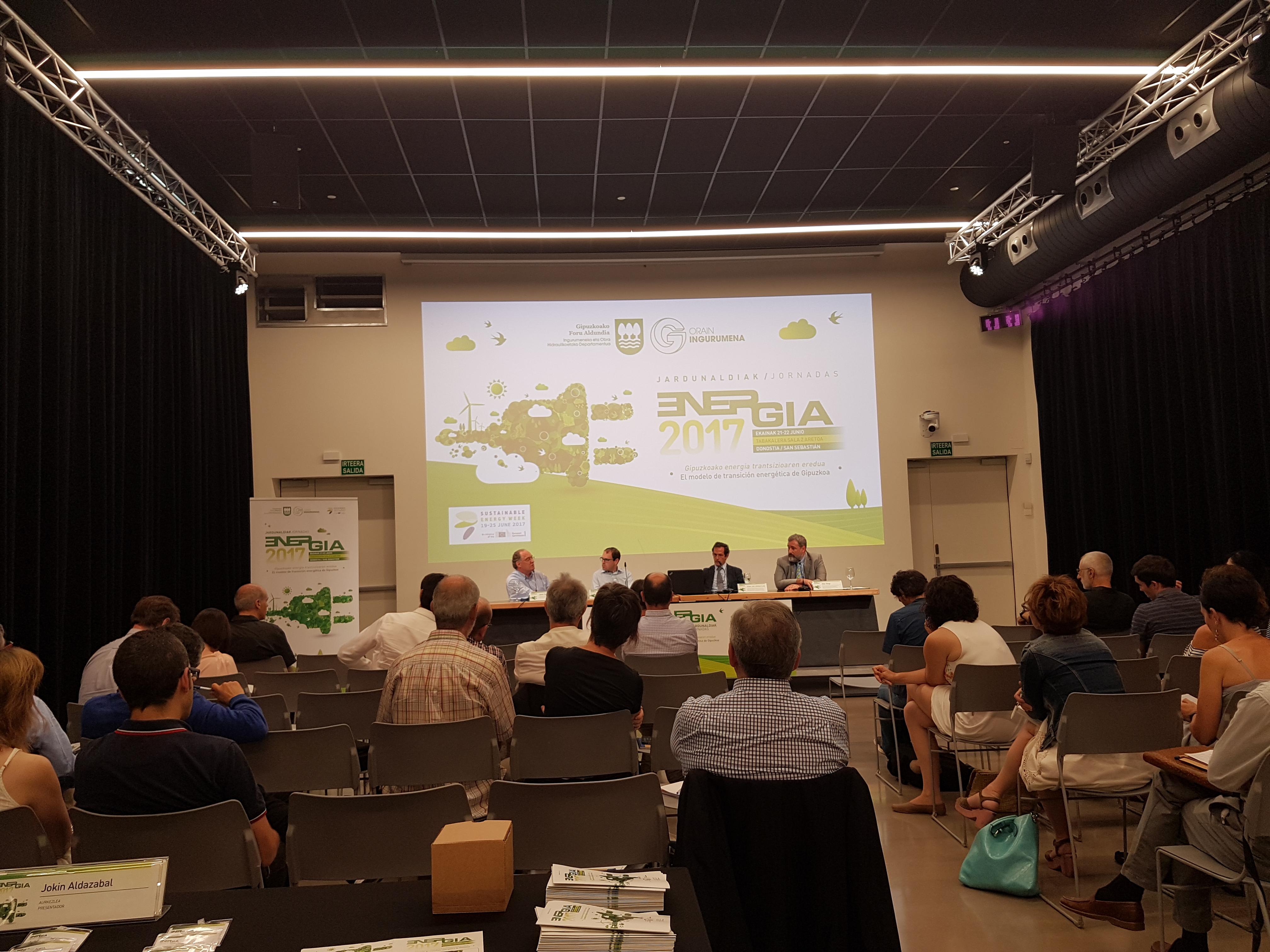 foto noticia: Kursaal Green hemos sido invitados a la Feria de la Energía de la Diputación Foral de Gipuzkoa