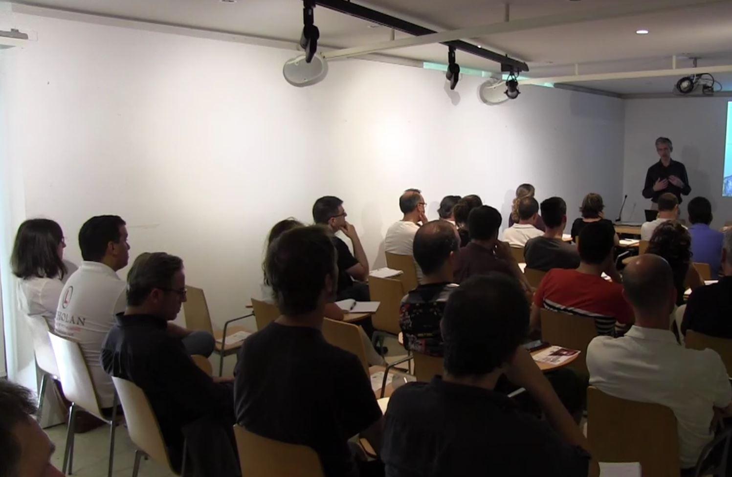 """foto noticia: Éxito de asistencia en la jornada """"Passivhaus: estándar y rehabilitación"""" organizada por el COAVN, Kursaal Green y Energiehaus"""