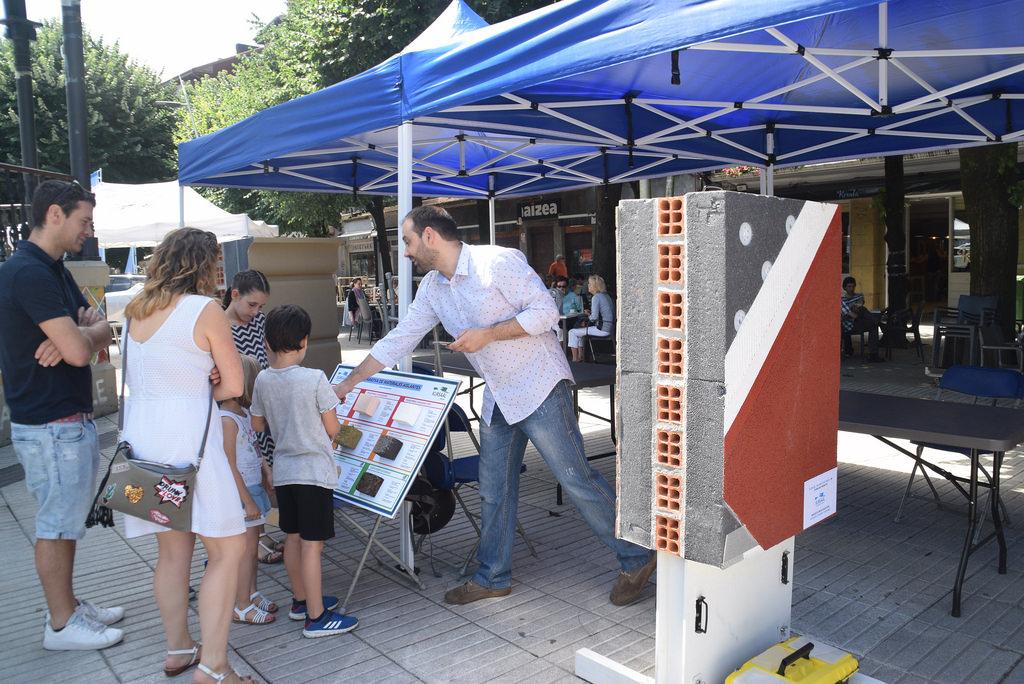 foto noticia: Kursaal Rehabilitaciones presente en la Feria de la Energía celebrada en Rentería