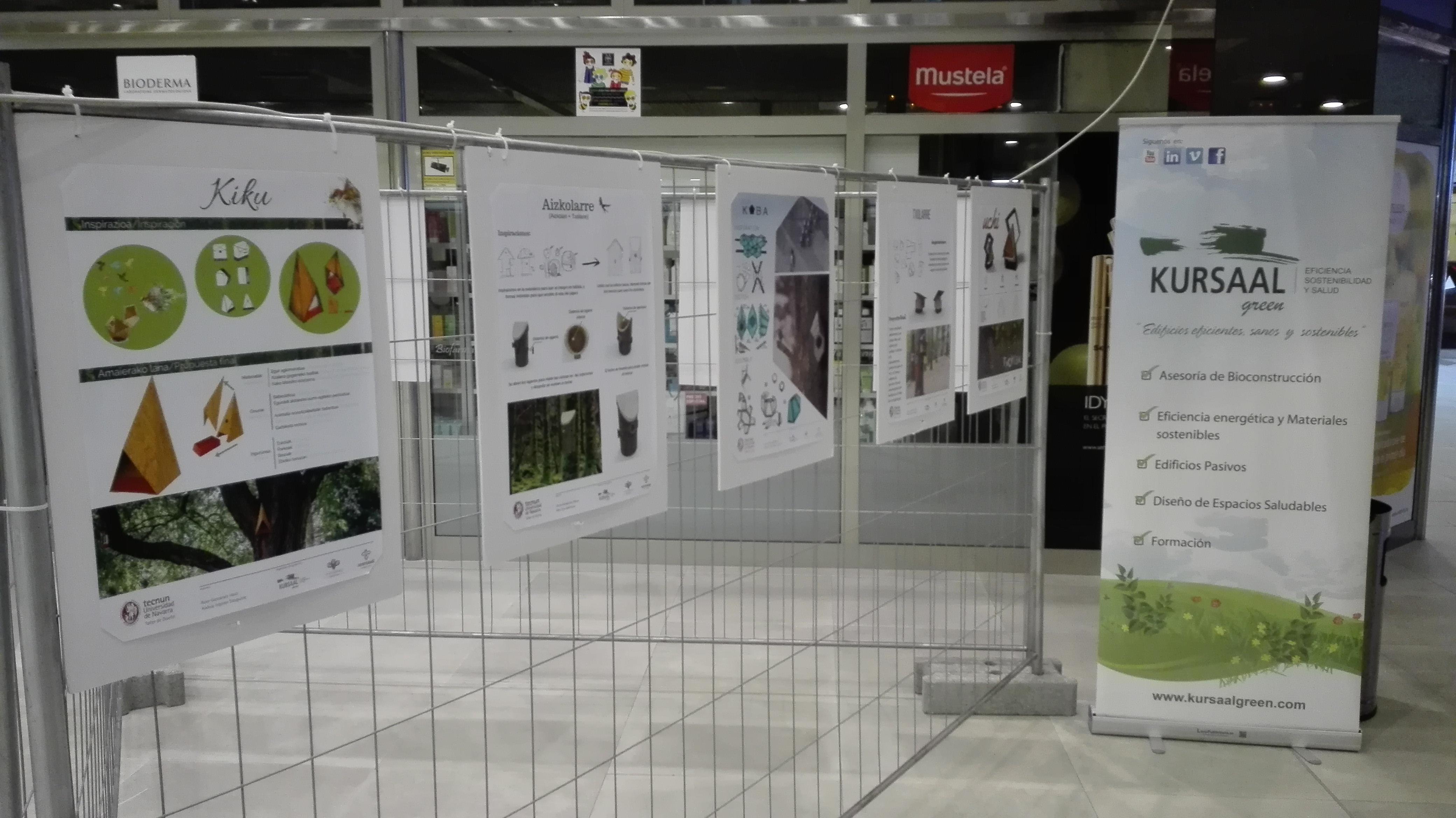 foto noticia: Continuamos con nuestra Campaña de Responsabilidad Social TXORIAK con su exposición en Mendibil (Irún).