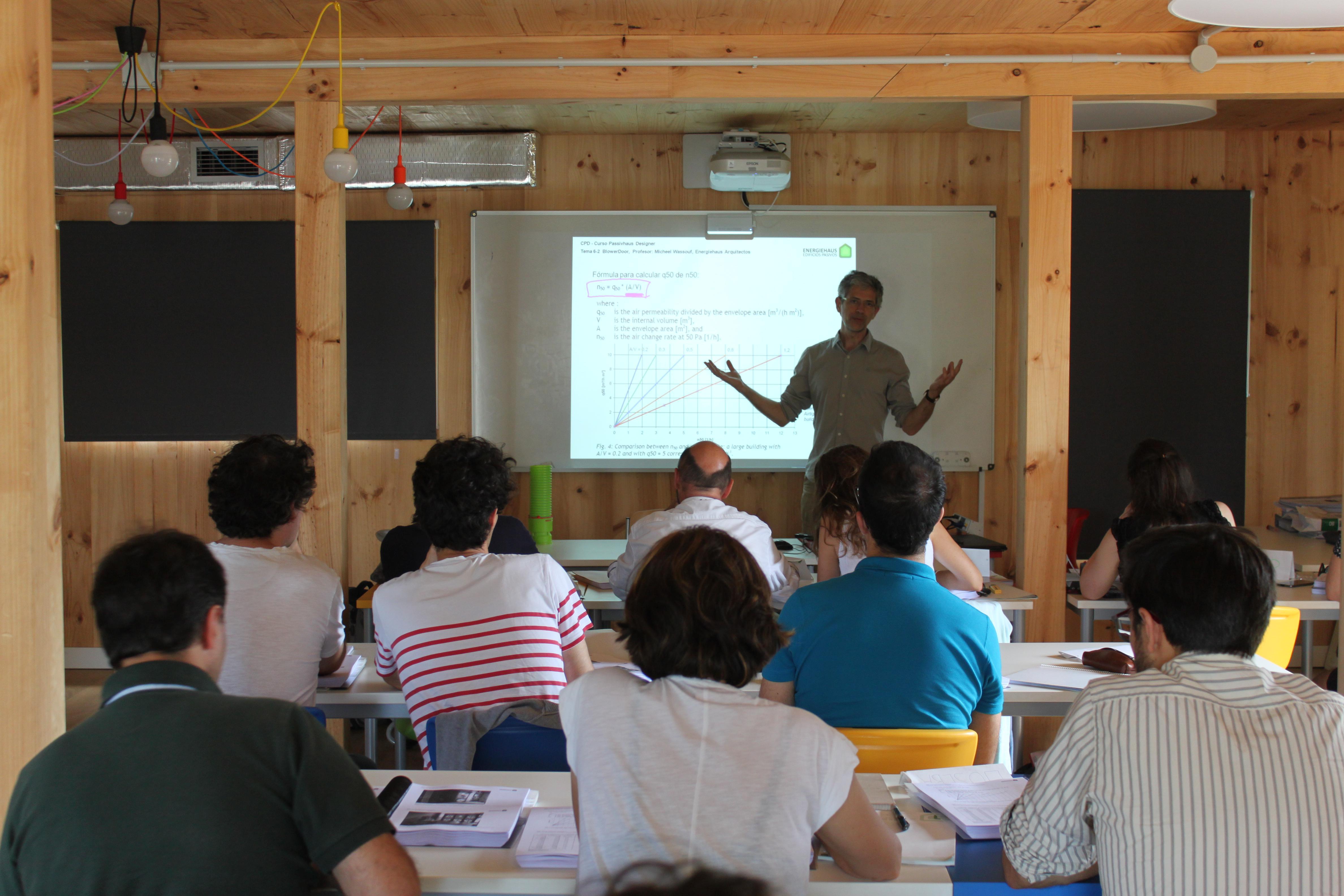 foto noticia: Arranca el primer curso Passivhaus Designer de Gipuzkoa organizado por Energiehaus con la colaboración de Kursaal Green