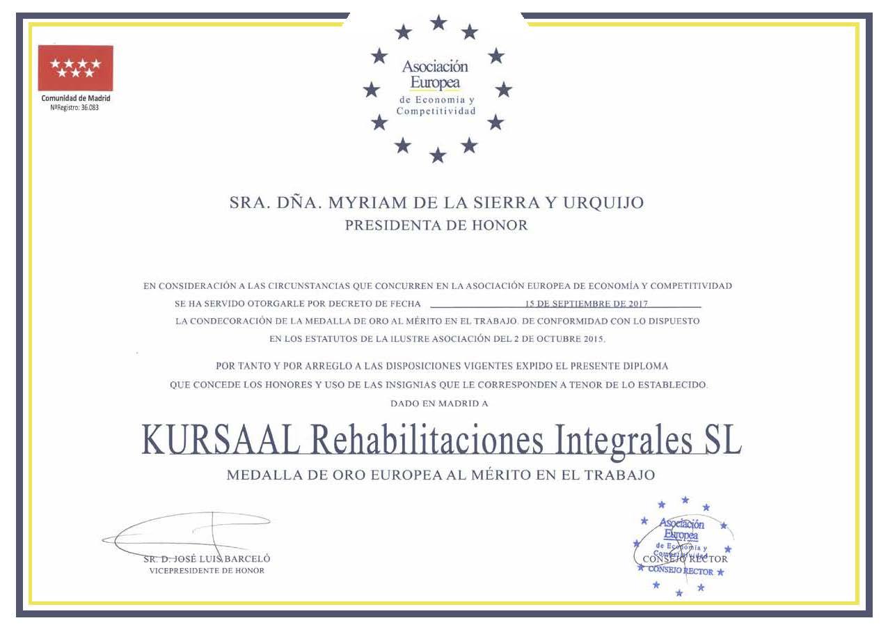 imagen 2 de noticia: kursaal-recibe-la-medalla-de-oro-europea-al-merito-en-el-trabajo