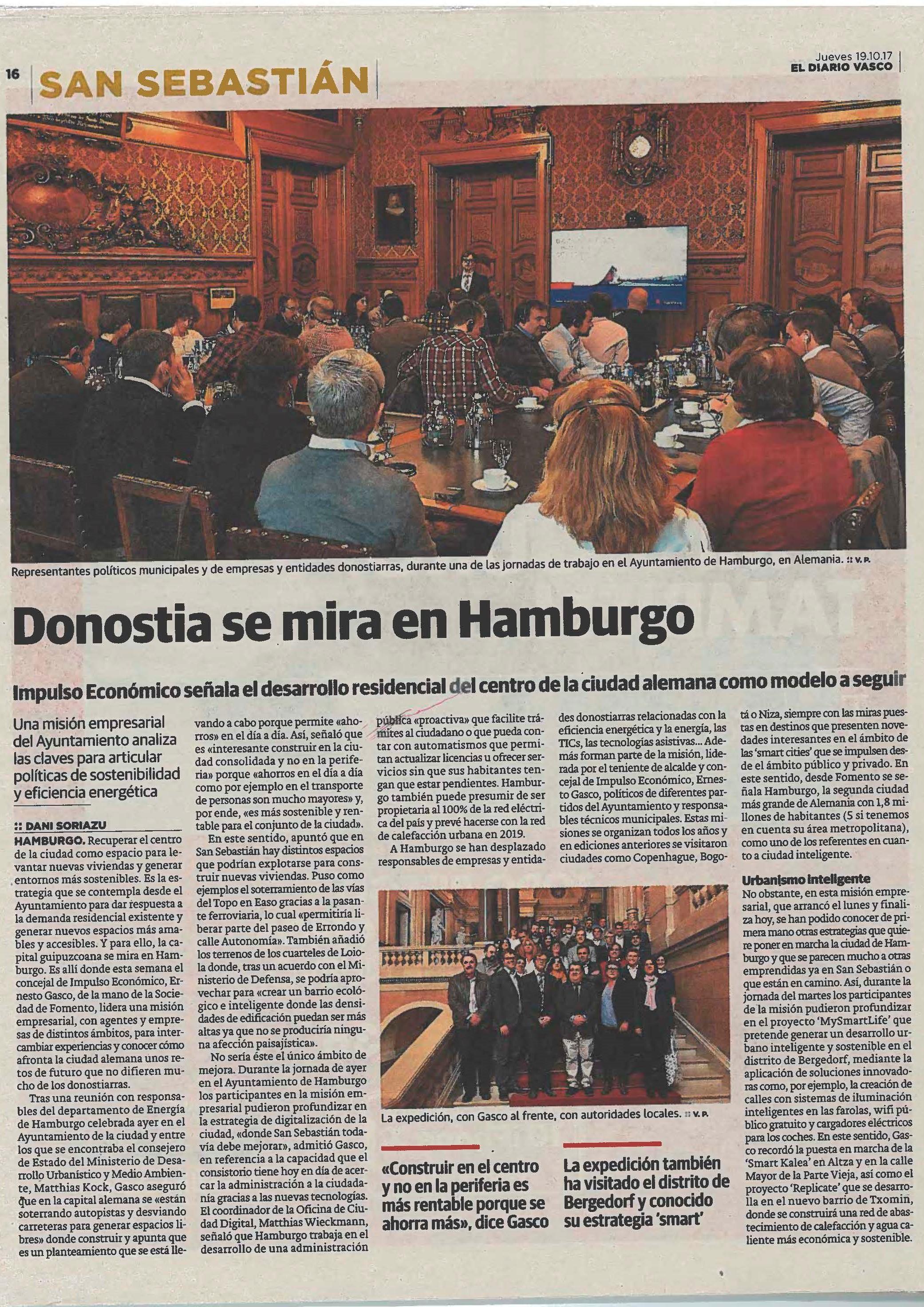 imagen 2 de noticia: el-diario-vasco-se-hace-eco-de-la-misin-empresarial-internacional-a-hamburgo-organizada-por-fomento-san-sebastin-en-la-que-kursaal-hemos-participado