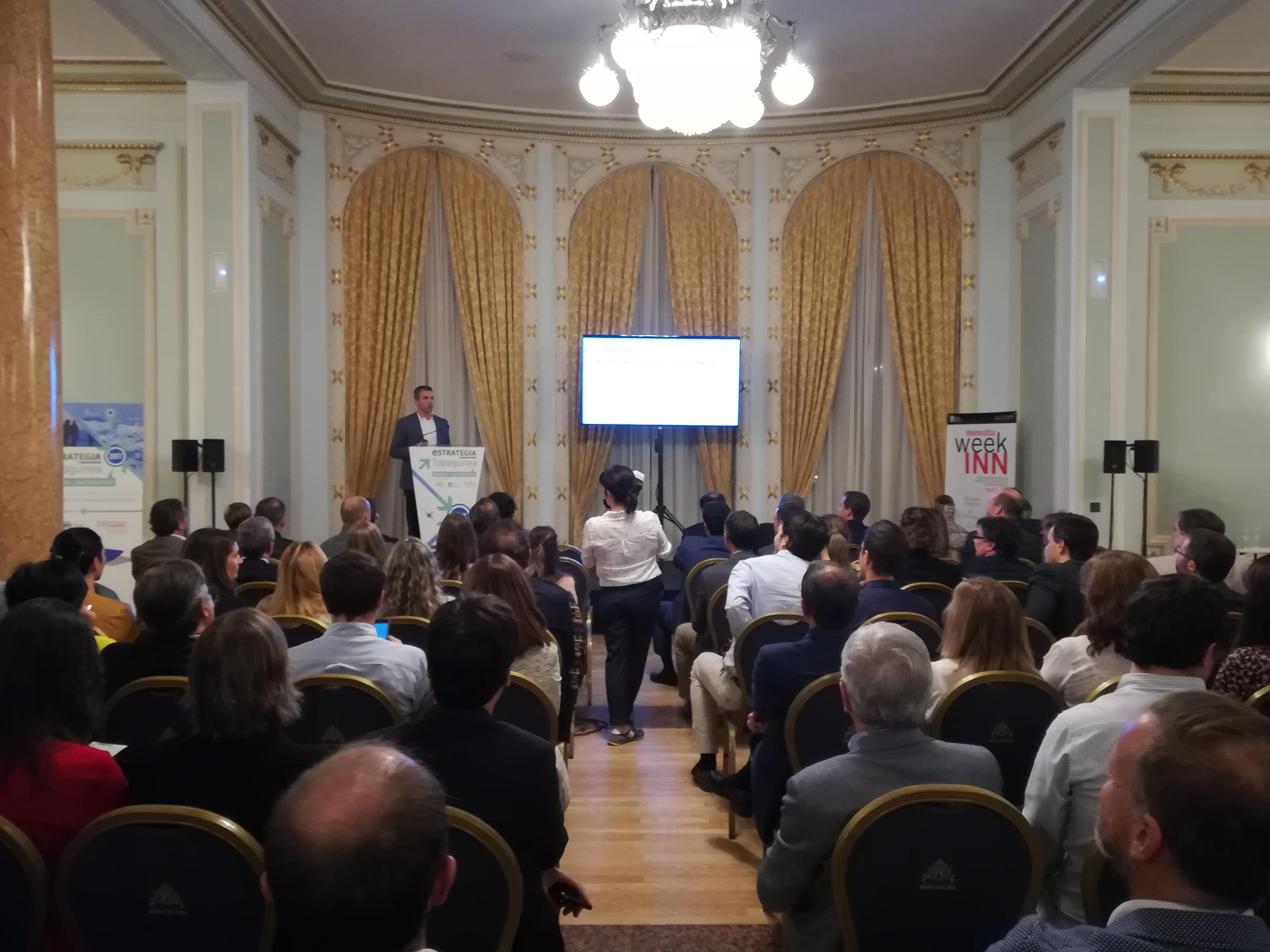 foto noticia: Kursaal somos invitados a la entrega de premios DonostiaINN celebrado en el Hotel María Cristina