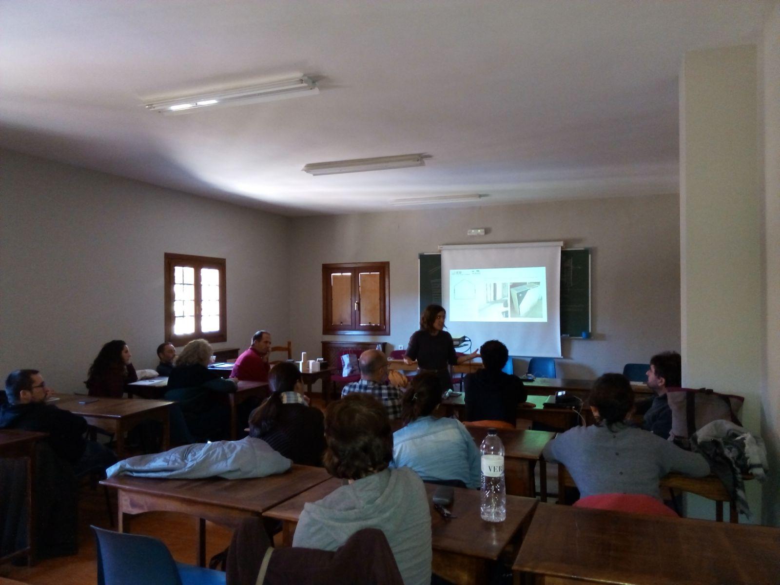 foto noticia: Kursaal Green en el VI encuentro de alumnado de Máster de Bioconstrucción IEB