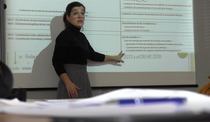 foto noticia: Un año más impartimos el curso Rehabilitaciones de Consumo Casi Nulo para trabajadores de la Diputación de Gipuzkoa