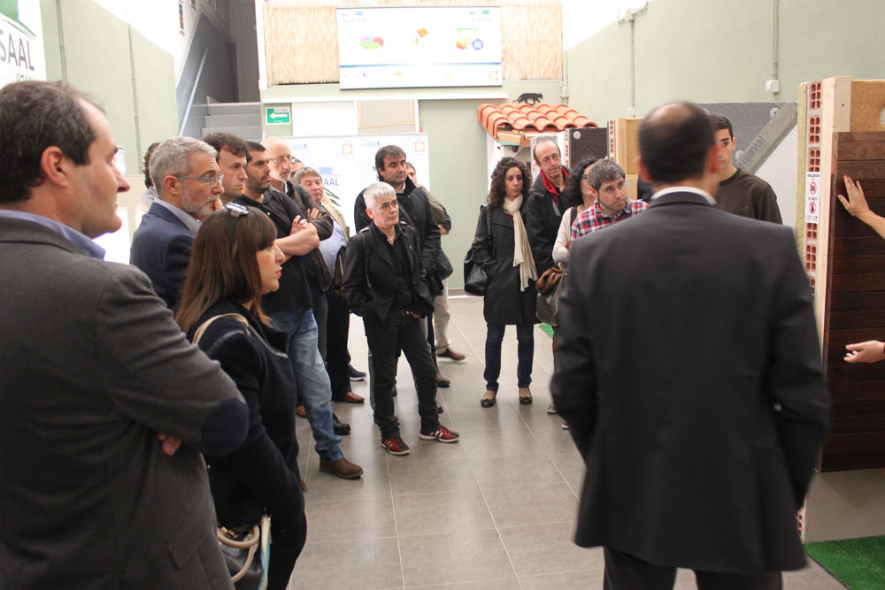 """foto noticia: Inauguramos """"Kursaal Green Gela"""" el primer aula de bioconstrucción de Euskadi"""
