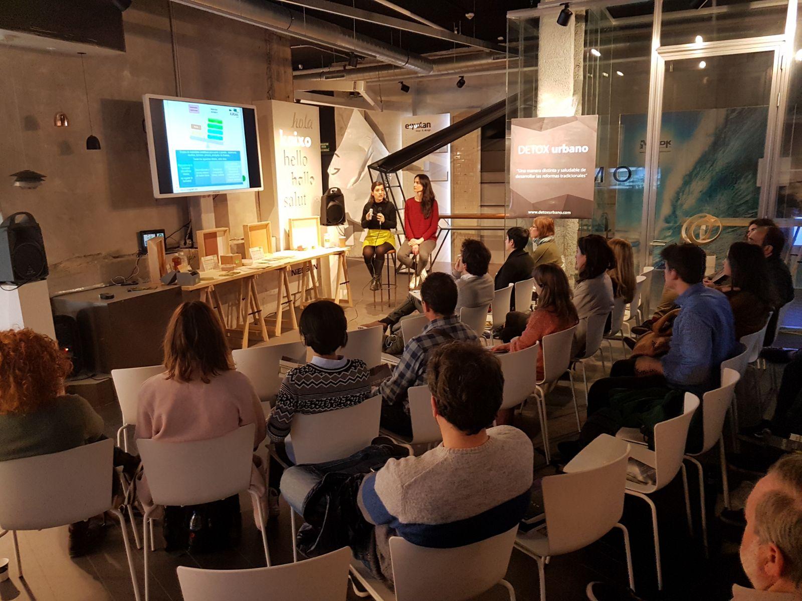 foto noticia: Kursaal Green impartimos una charla en el espacio Basque Living de Tabakalera