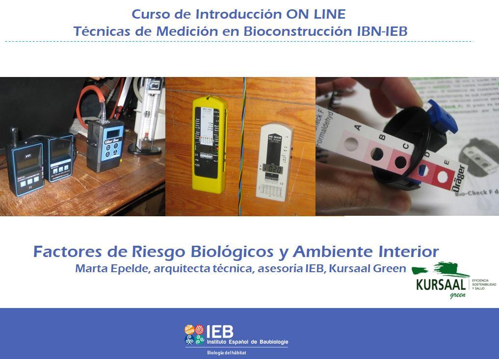 foto noticia: Participamos como docentes en el curso de Introducción online a las técnicas de medición en Bioconstrucción IBN-IEB
