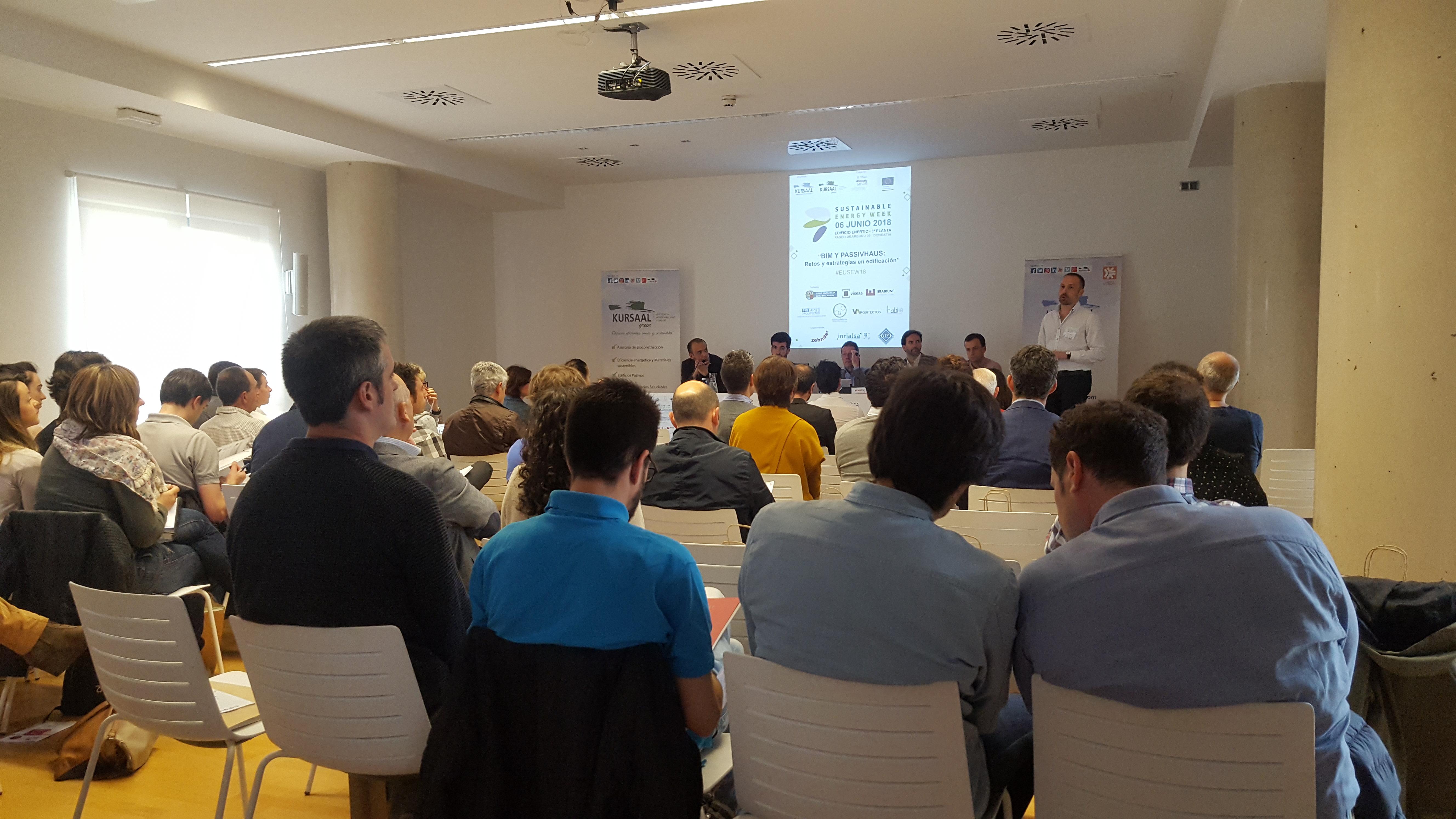 foto noticia: Por quinto año consecutivo Kursaal Rehabilitaciones organizamos una jornada enmarcada en la Semana Europea de la Energía Sostenible