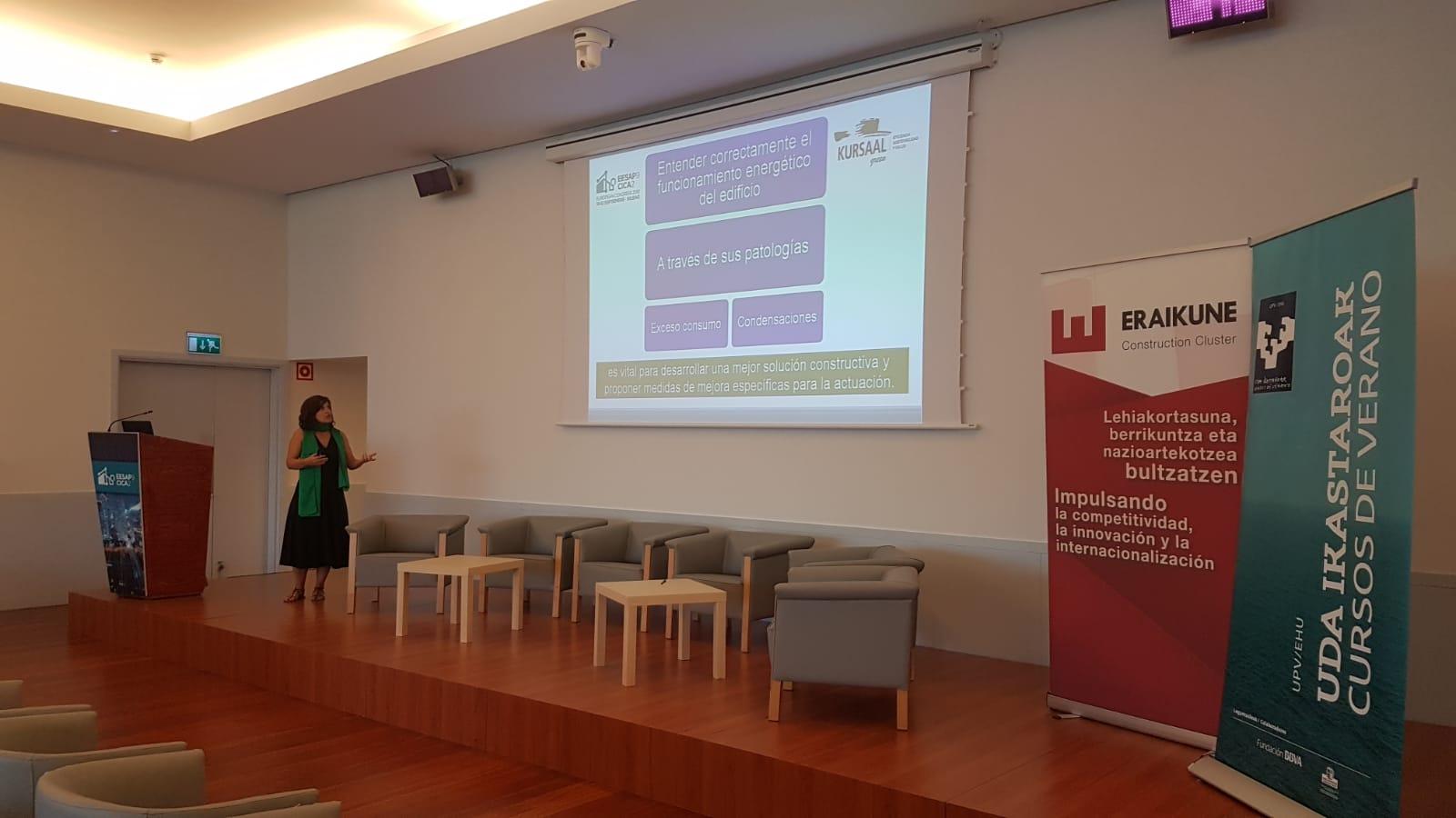 foto noticia: Nuevamente, Kursaal Green participamos en el Congreso Europeo sobre Eficiencia Energética y Sostenibilidad en Arquitectura y Urbanismo (EESAP)