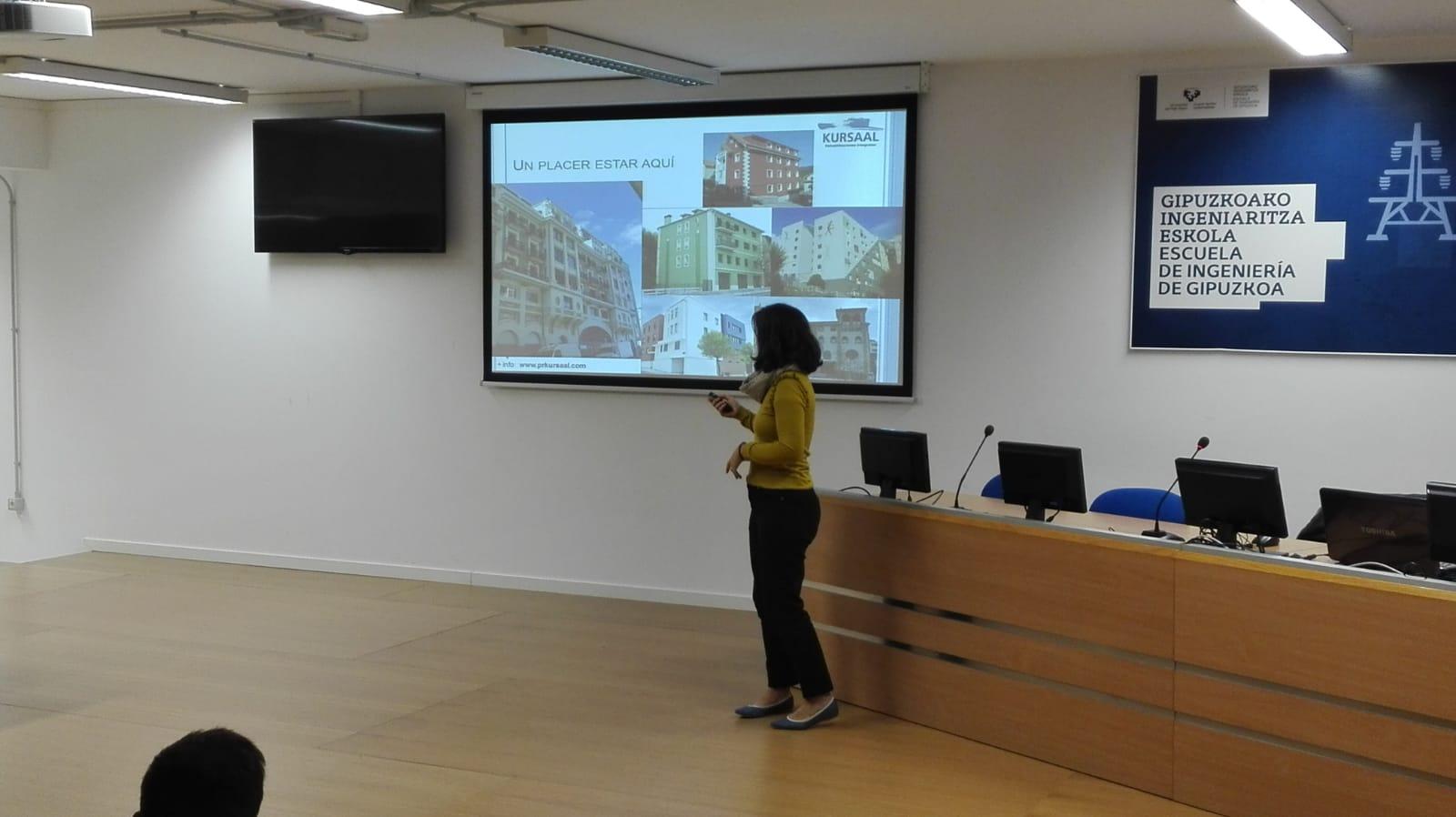 foto noticia: Impartimos una charla en el Ciclo de Conferencias Técnicas de la UPV