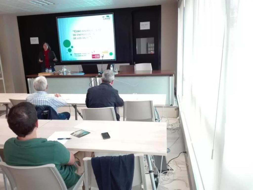 foto noticia: Kursaal Green impartimos una charla enmarcada en la jornada sobre el estándar Passivhaus en Rehabilitación en el Colegio Oficial de Aparejadores de Bizkaia