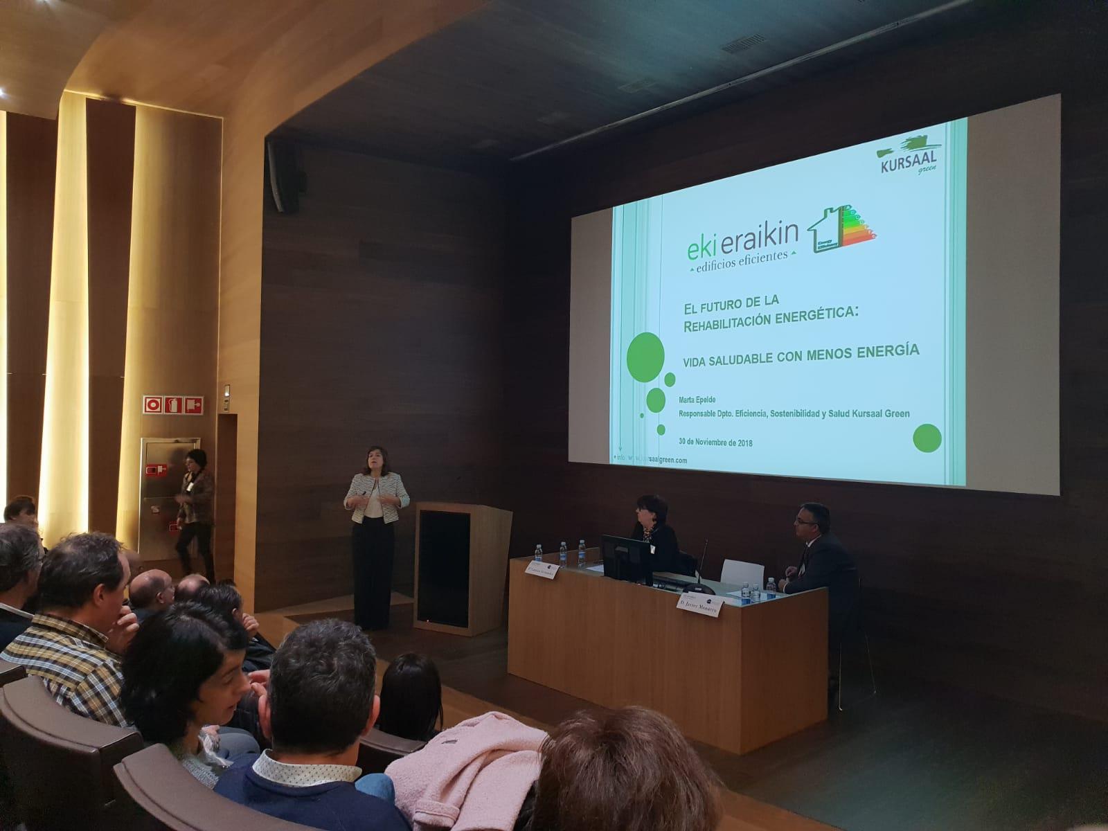 foto noticia: Impartimos ponencia en el I Encuentro Ekieraikin organizado por CAFGUIAL