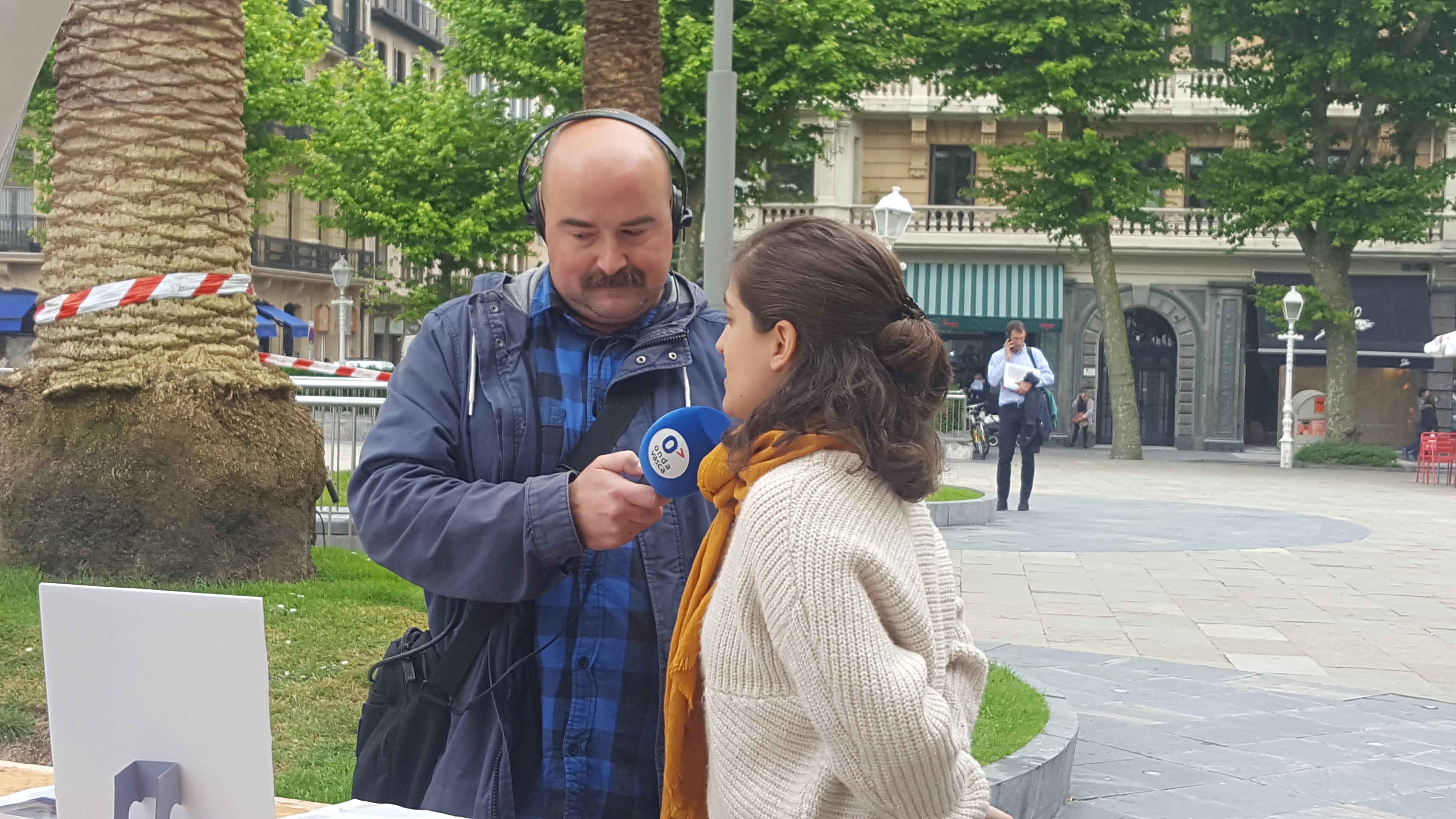 foto noticia: Entrevista a Marta Epelde en Onda Vasca
