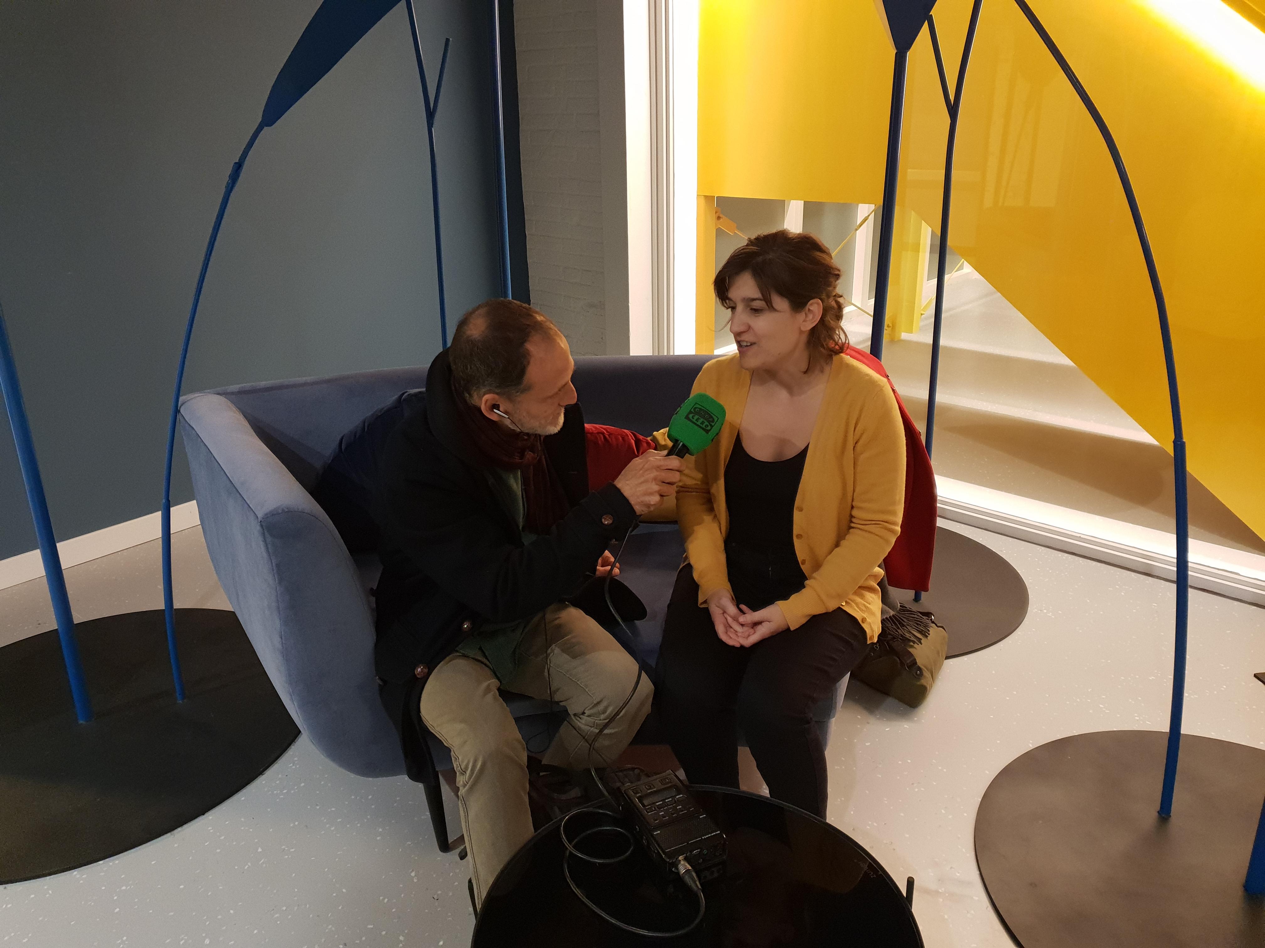 foto noticia: Onda Cero entrevista a Marta Epelde en la Misión Empresarial Internacional organizada por fomento