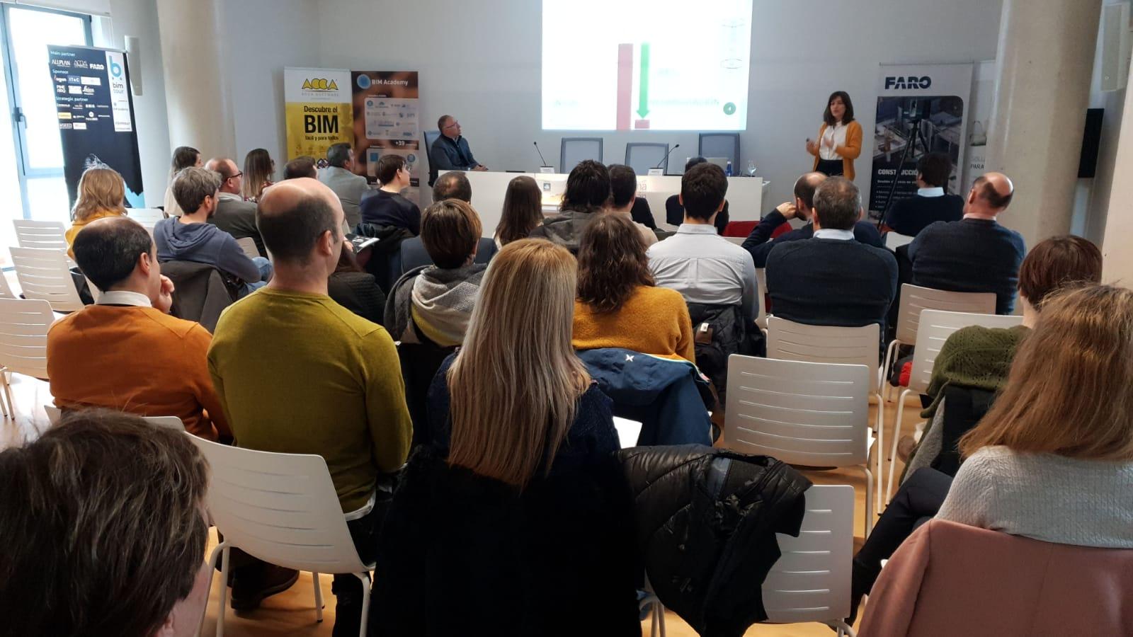 foto noticia: Participamos impartiendo una ponencia en la jornada BIM para Administraciones Públicas y Universidad organizada por BIM Academy