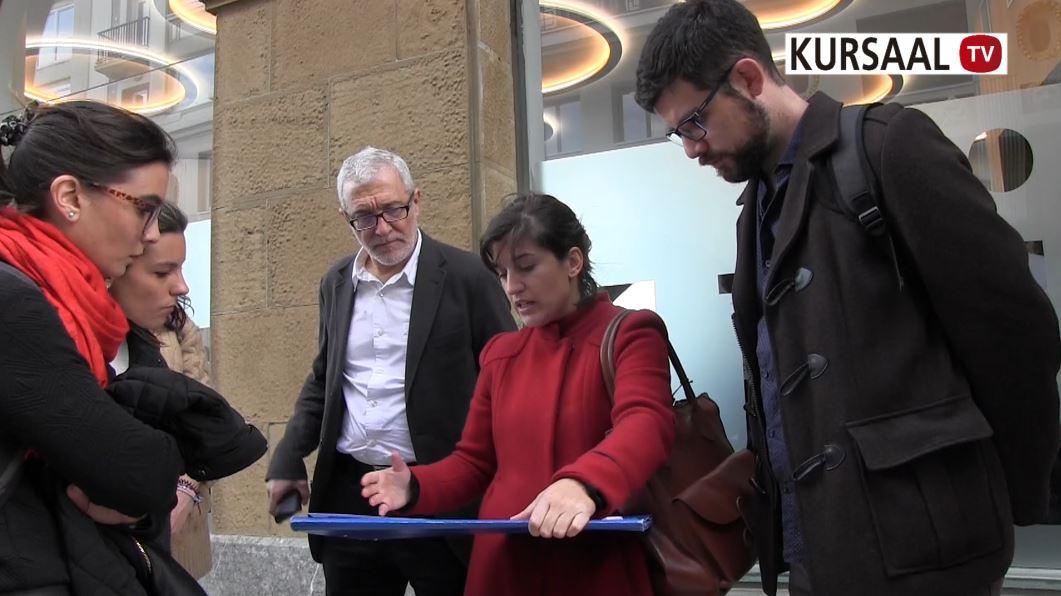 foto noticia: Hacemos un recorrido por edificios rehabilitados de Donostia con alumnos de la UPV