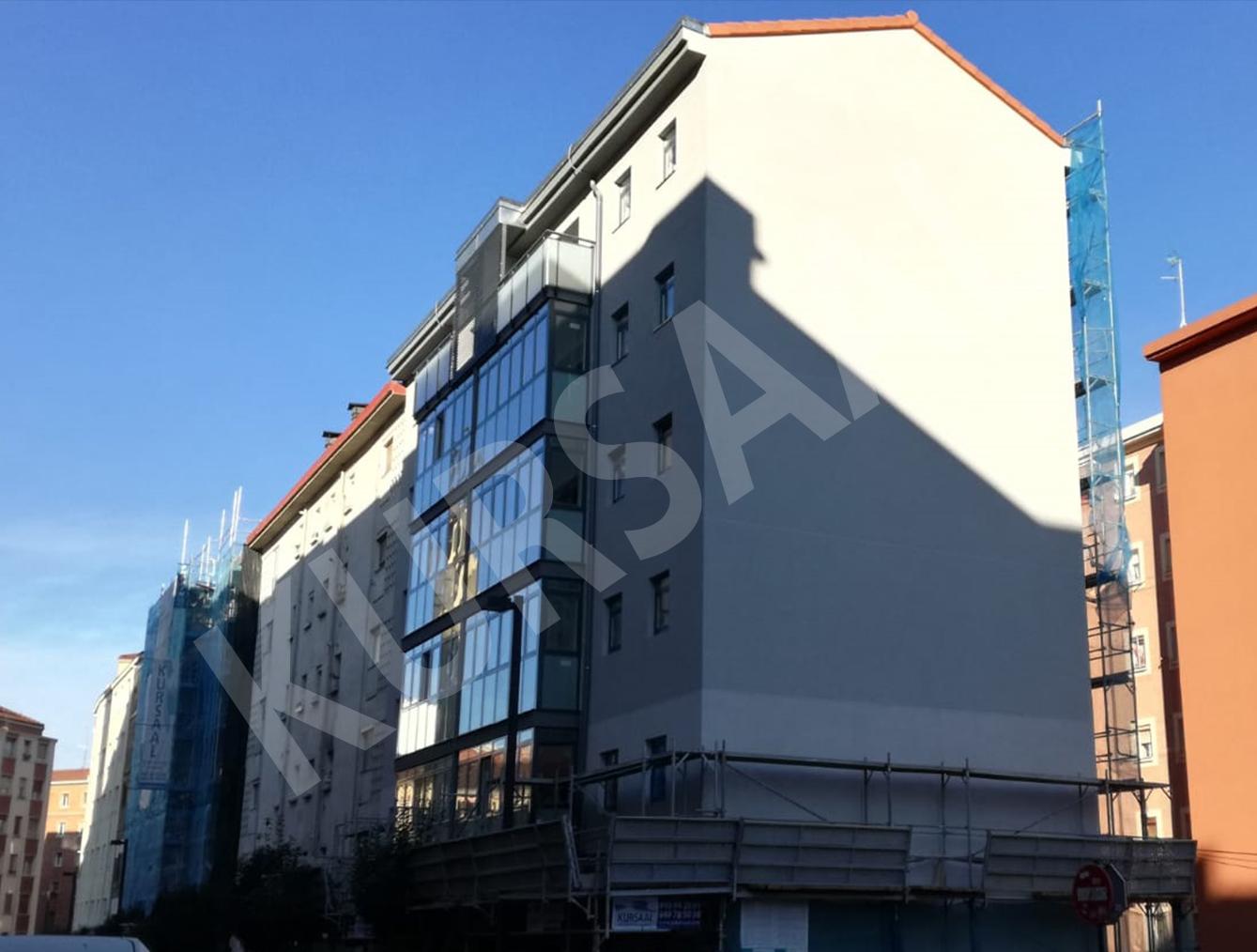 foto noticia: Nuevamente Kursaal un paso por delante. Realizamos la Rehabilitación Energética de los primeros dos bloques del Proyecto Europeo SmartEnCity Coronación de Vitoria