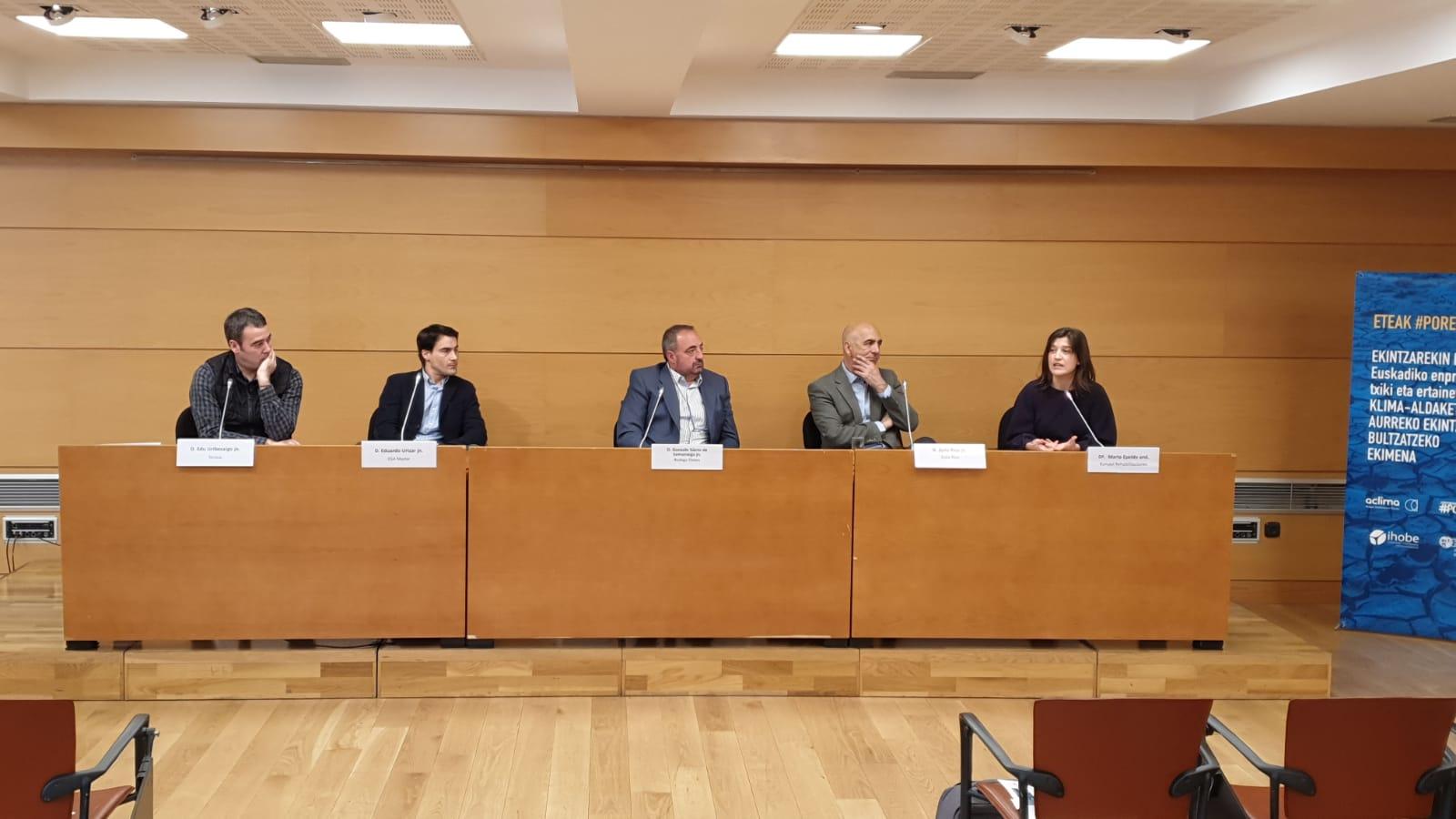 foto noticia: Participamos en ASTEKLIMA, la Semana del Cambio Climático de Euskadi