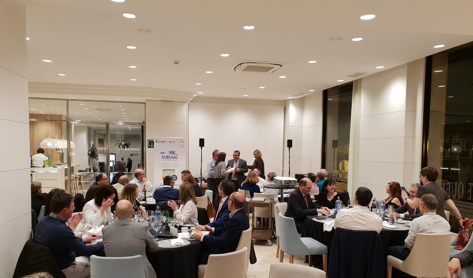 imagen de la noticia: Un año más participamos en la cena de hermandad anual del Colegio de Administradores