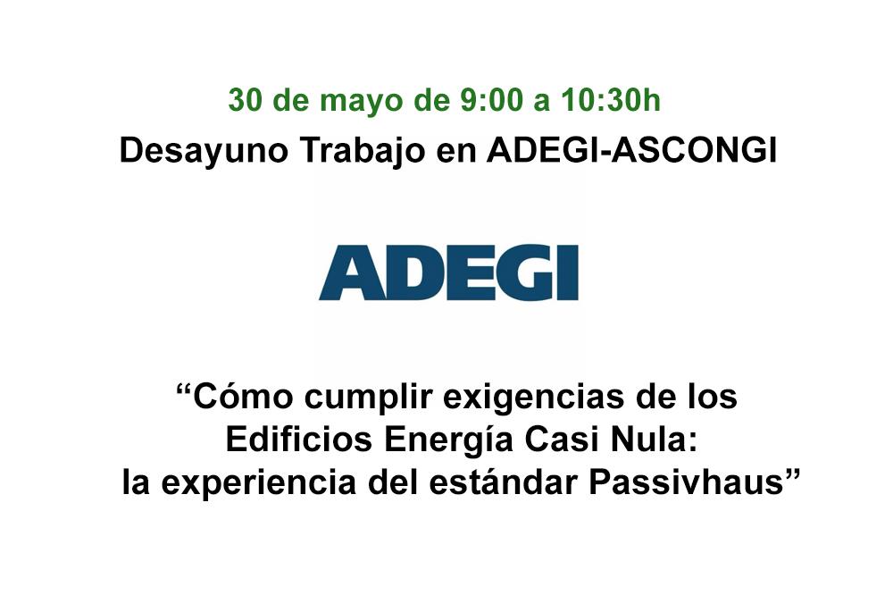 imagen de la noticia: Impartimos charla en el Desayuno de Trabajo organizado por ADEGI