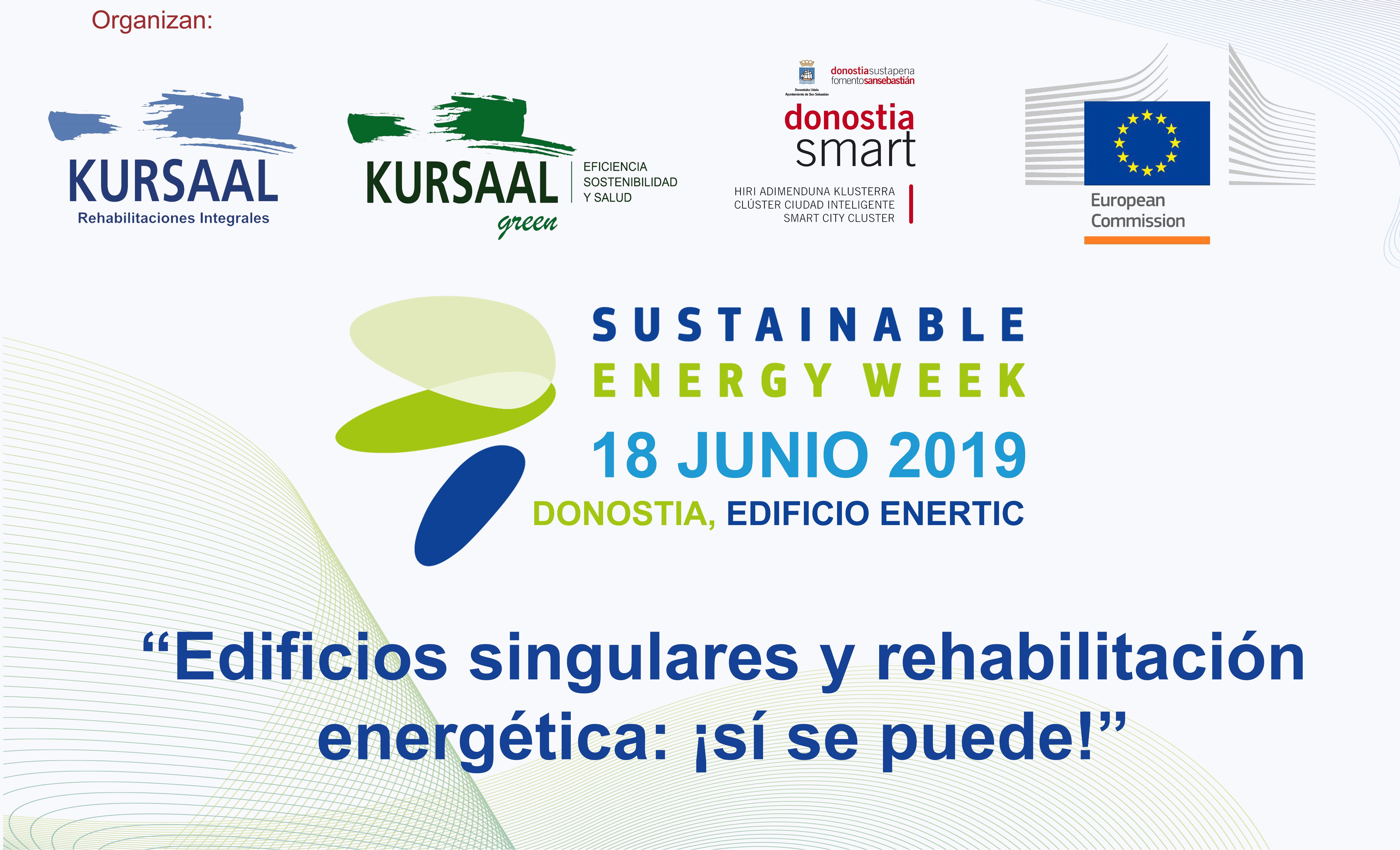 foto noticia: Por sexto año consecutivo Kursaal Rehabilitaciones organizamos una jornada enmarcada en la Semana Europea de la Energía Sostenible