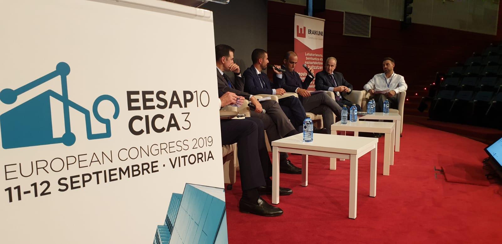 foto noticia: Nuevamente participamos en el Congreso Europeo sobre Eficiencia Energética y Sostenibilidad en Arquitectura y Urbanismo y Congreso Internacional de Construcción Avanzada