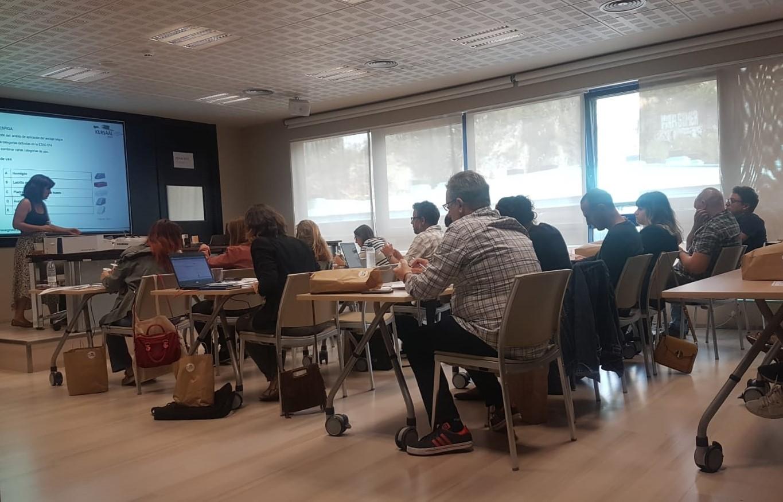 foto noticia: Impartimos la 10ª edición del curso de SATE en el Colegio Oficial de Aparejadores y Arquitectos Técnicos de Bizkaia.