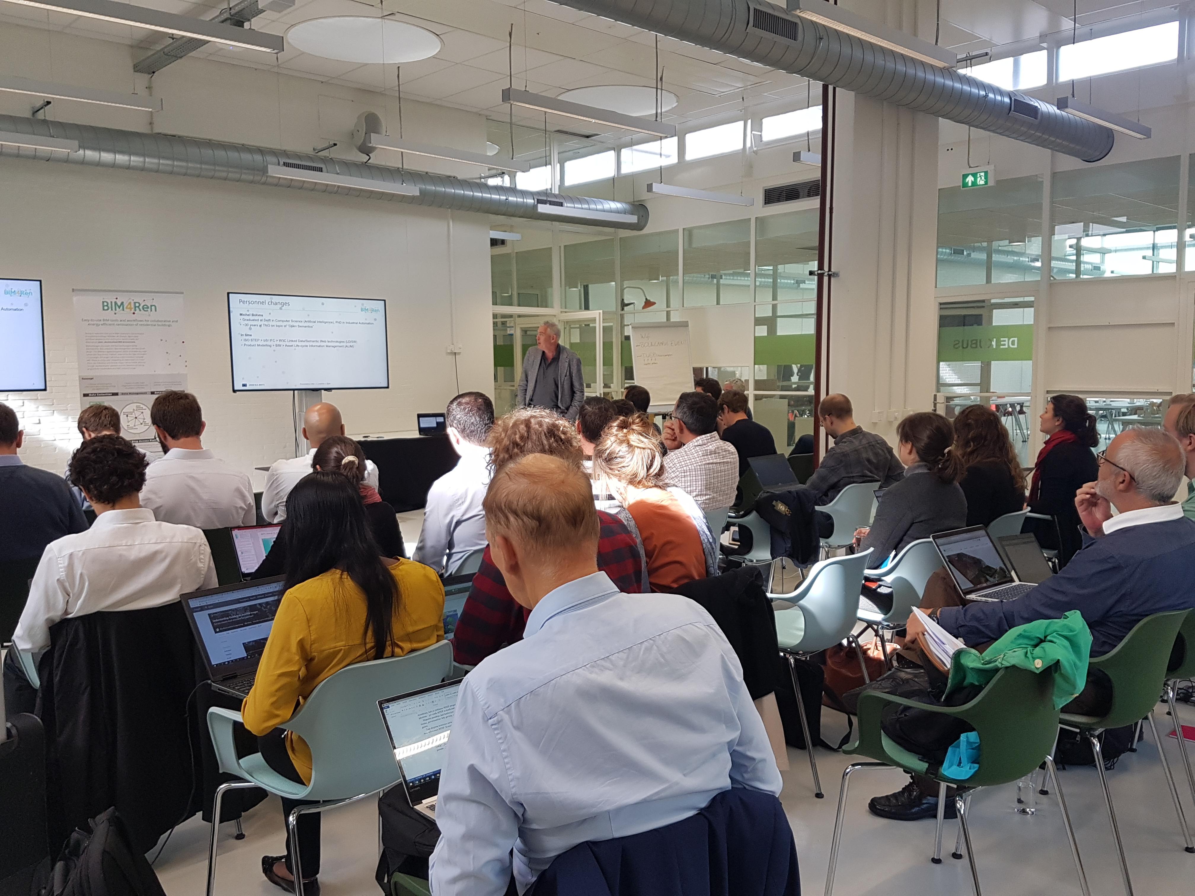 foto noticia: El proyecto europeo BIM4REN continua avanzando