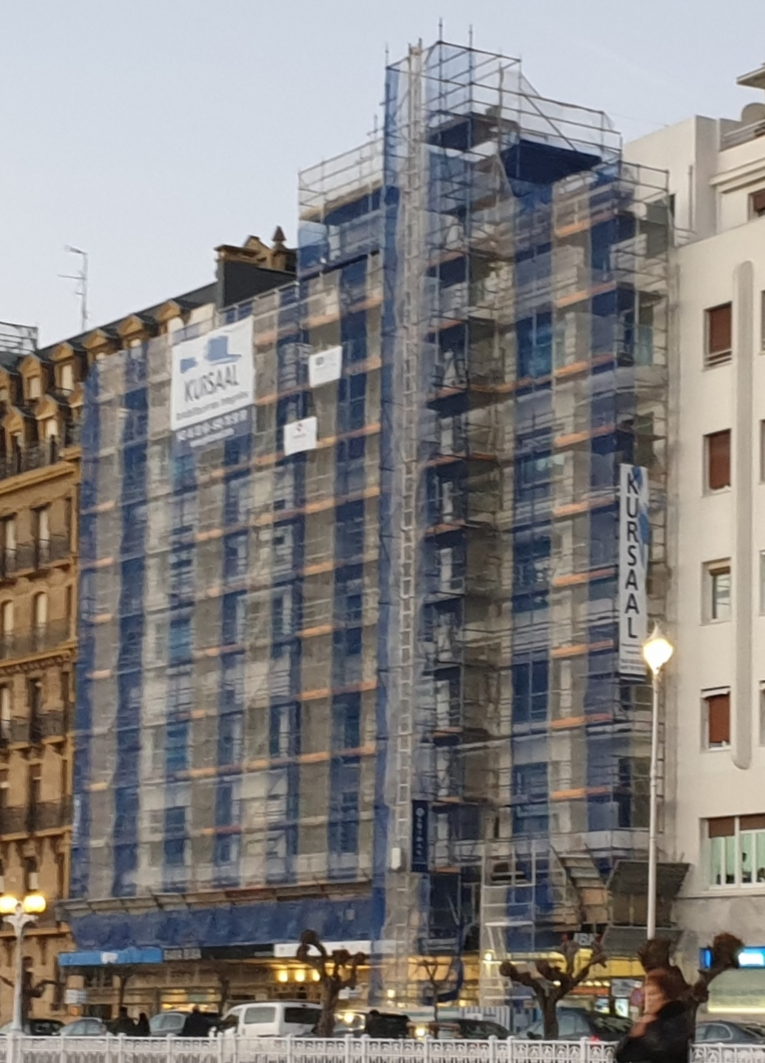 foto noticia: Comenzamos la rehabilitación energética de un edificio catalogado ubicado en Ramón María Lili, Donostia