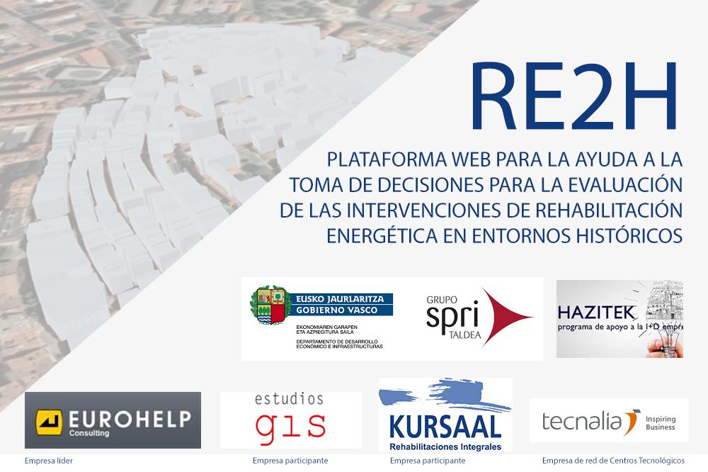 foto noticia: Finaliza el proyecto RE2H enmarcado en el Programa de apoyo a la I+D empresarial Hazitek en el que participamos.