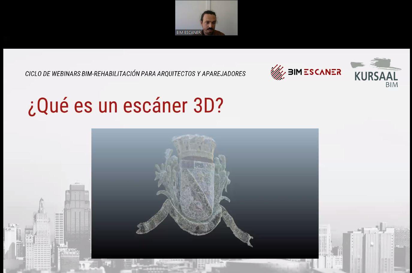 foto noticia: Organizamos junto con BIMEscáner un Ciclo de Webinars específicos sobre BIM y escáner 3D para REHABILITACIÓN