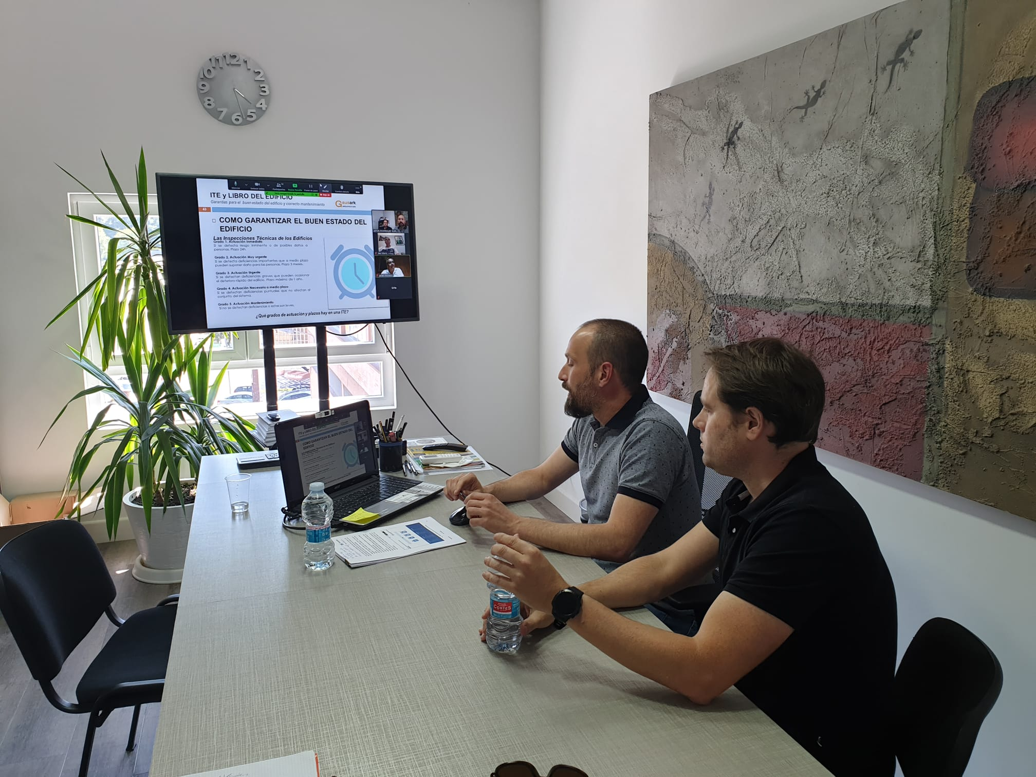 foto noticia: Impartimos charla para el Colegio de Administradores de Fincas