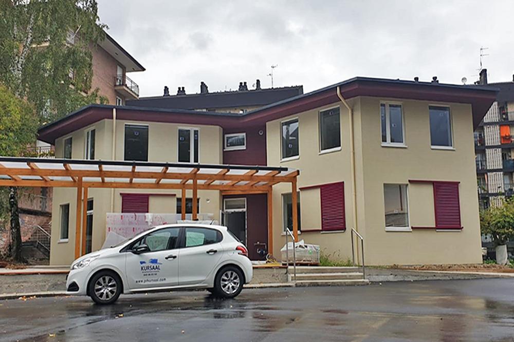 """foto noticia: Kursaal: """"el resultado que hemos obtenido en el  Blower Door realizado en la rehabilitación Passivhaus para el Ayuntamiento de Hernani ha sido todo un éxito"""""""