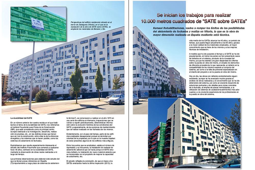 """foto noticia: Artículo sobre la obra """"SATE sobre SATE"""" en la revista Pinturama"""
