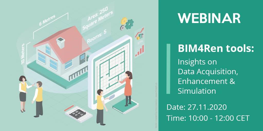 foto noticia: Ya ha llegado la segunda webinar del proyecto europeo BIM4Ren