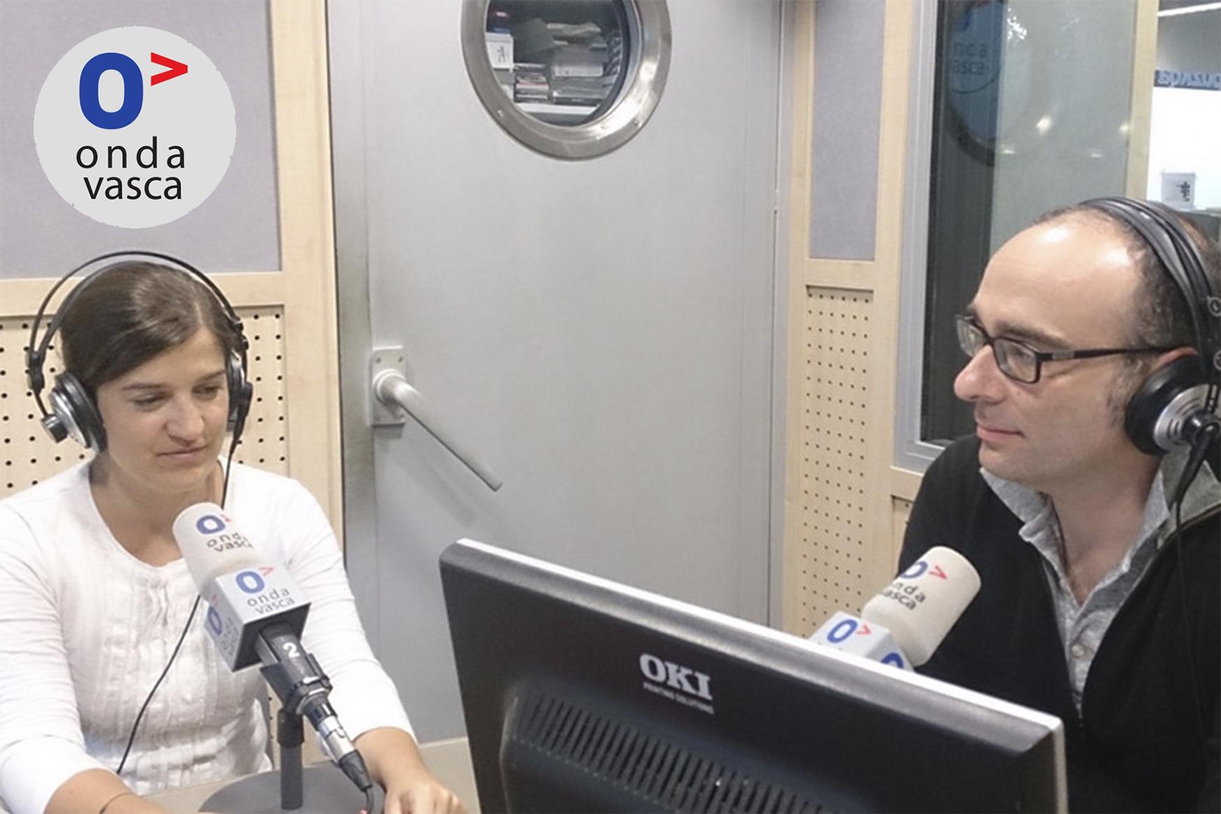 foto noticia: Visita al programa La Tarde de Euskadi de Onda Vasca
