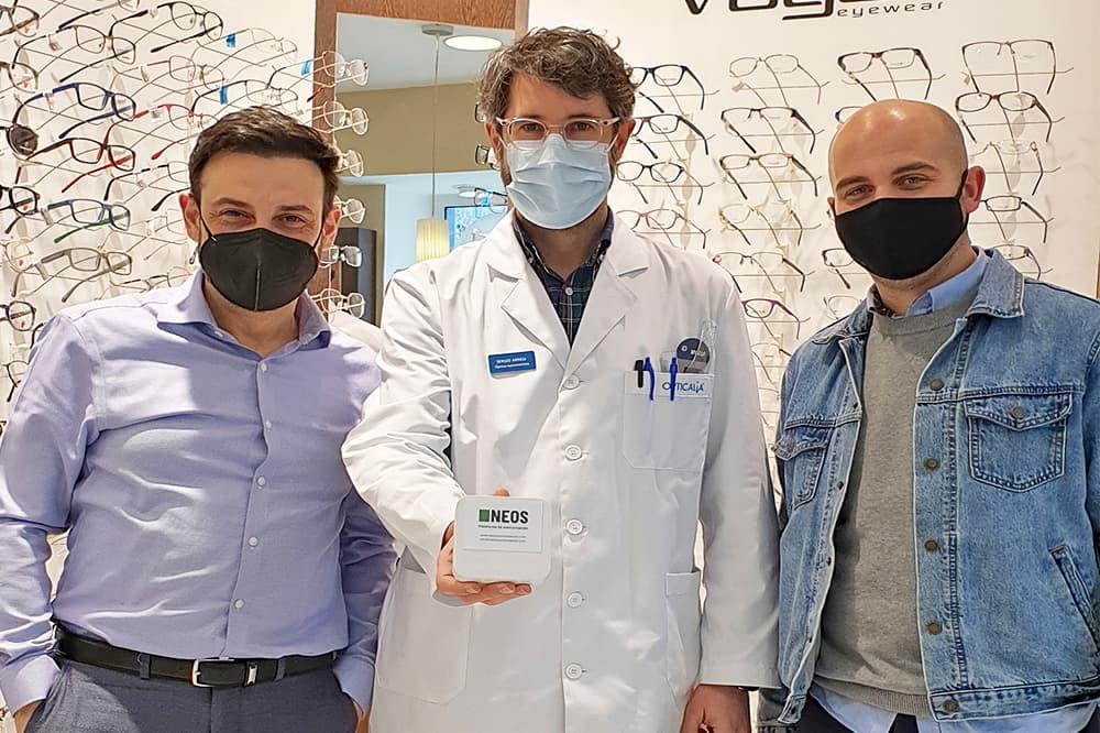 foto noticia: Grupo Kursaal junto a San Sebastián Shops han puesto en marcha un estudio para comprobar la calidad del aire de los comercios donostiarras